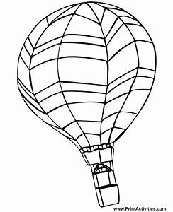 Hot Air Balloon Coloring Page | Colouring Pages/Coloring ...