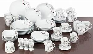 Service Porzellan Weiß : van well kombiservice porzellan 62 teile palazzo online kaufen otto ~ Markanthonyermac.com Haus und Dekorationen