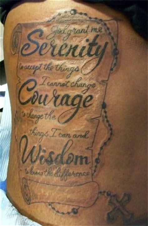 moving serenity prayer tattoo designs inkdoneright