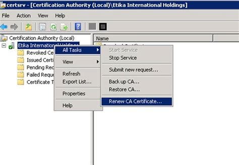 Active Directory Certificate Templates by Active Directory Certificate Services No Templates Found
