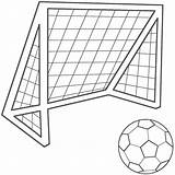 Soccer Coloring Pages Printable sketch template