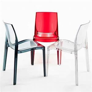 Chaise Grand Soleil : chaise transparent pour cuisine bar en polycarbonate femme fatale grand soleil ~ Teatrodelosmanantiales.com Idées de Décoration
