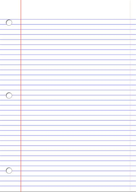 office lined paper template  printable papercraft