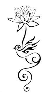lotus-and-swallow-tattoo | Tattoo designs | Tattoos, Swallow tattoo, Lotus tattoo