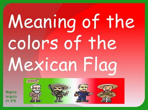 what do the colors of the mexican flag mexican flag colors