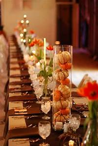 fall table decorations 31 Days of Fall: 20+ Easy Fall Centerpiece Ideas