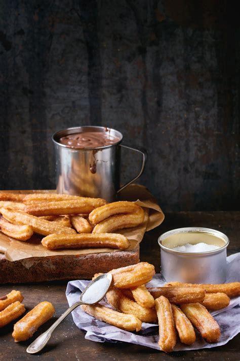 hervé cuisine churros recette churros et crème au chocolat