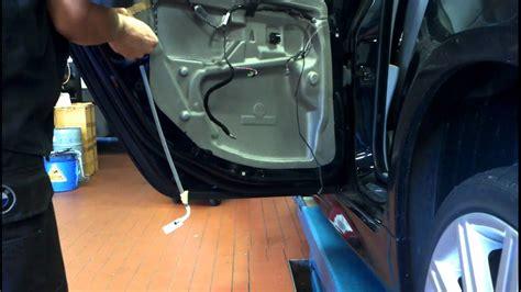 bmw  series  rear door trim removal   diy