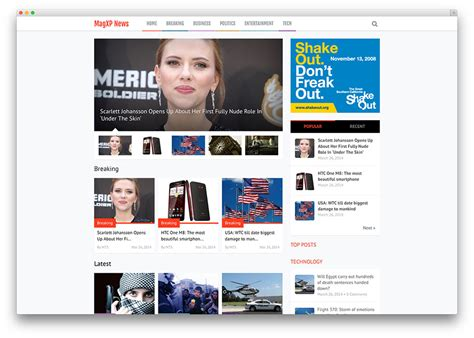 Newspaper Themes 20 Best Newspaper Themes For News 2017