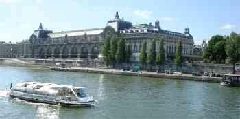 Bateau Mouche Orsay by Quia Paris En Images