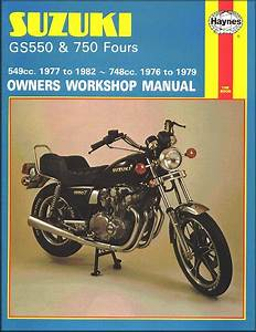 Suzuki Gs550  Gs750 Fours Repair Manual 1976
