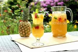 Ananas Zitrus Limonade / Pineapple Citrus Lemonade amerikanisch kochen de