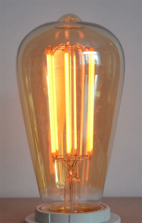 exterior led lighting for 6w led vintage retro squirrel cage dimmable led l bulb