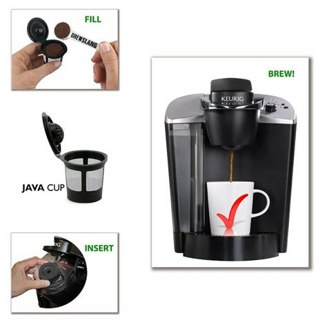 Newly designed with multistream technology™ compatibility to extract full flavor and aroma every time you brew. 4 Pack K-Cup Reusable Coffee Filter Keurig K-Select, K ...