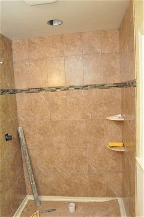 shaped tile how to tile a bathroom shower walls floor materials
