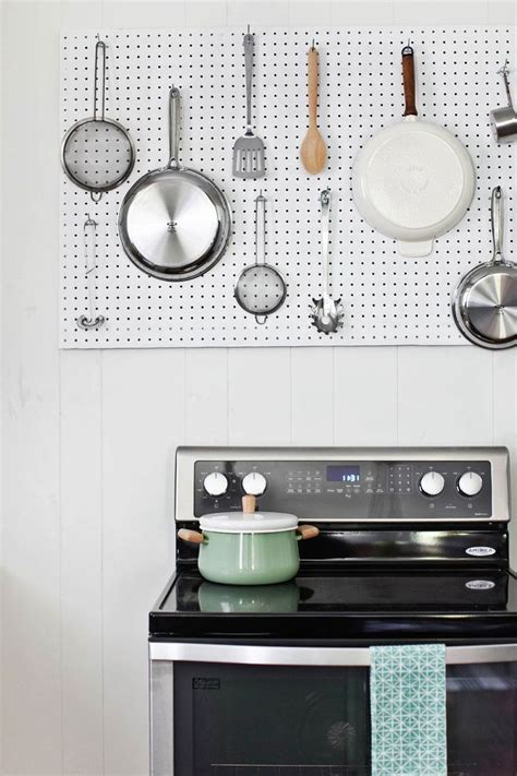 kitchen pegboard ideas kitchen kitchen storage ideas kitchen