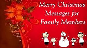 Christmas Messages for Family, Merry Christmas Wishes for ...