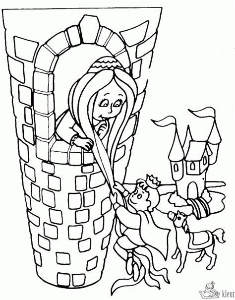Kleurplaat Rapunzel by Kleurplaten Rapunzel Kleurplaten Kleurplaat Nl
