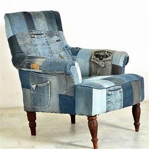 Moderne Relaxsessel Fernsehsessel : sessel relaxsessel fernsehsessel indigo patchwork jeans gro klein modern neu hell yes ~ Frokenaadalensverden.com Haus und Dekorationen