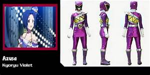 The gallery for --> Kyoryu Violet
