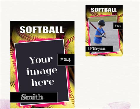 Baseball Card Template Free by Baseball Trading Card Template Free