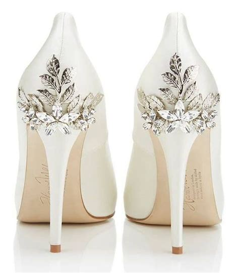 floral wedding shoes ideas  spring  summer