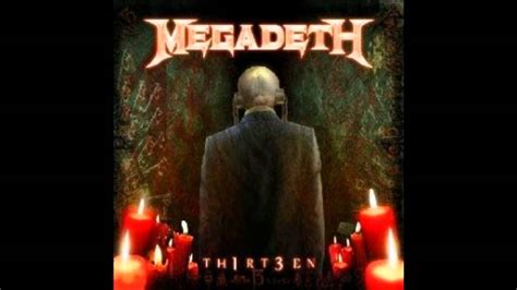 megadeth thirteenlyrics  subtitulos en espanol youtube
