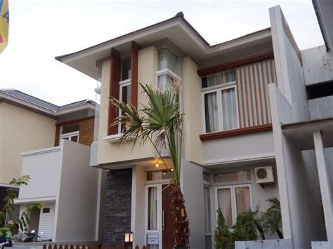 jenis tampilan cat dinding model rumah modern