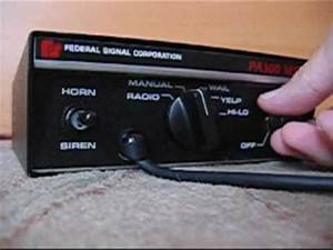 Federal Pa300 Siren Wiring Diagram : federal siren pa300 series youtube ~ A.2002-acura-tl-radio.info Haus und Dekorationen