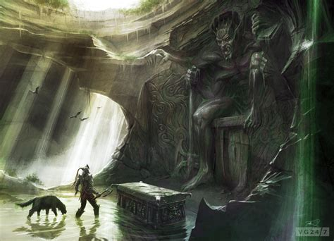 Quick Shots Skyrim Concept Art Depicts People And Places