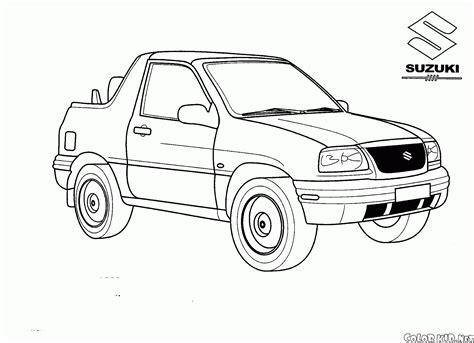 Lada Per Bambini by Disegni Da Colorare Suzuki Grand Vitara