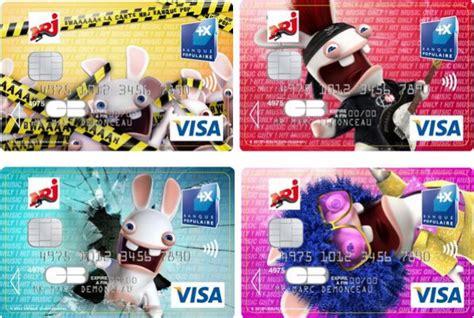banque populaire si鑒e sponso les lapins crétins débarquent sur la carte nrj banque pop 39 semageek