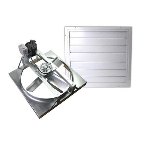 whole house fan cost cool attic 24 in 4500 cfm belt drive whole house fan with