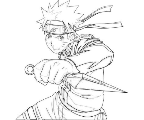 anime uzumaki naruto coloring pages  cool hd