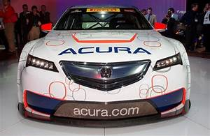 Acura Tlx Gt Racecar Boosts 2015 Tlx Launch With 500hp Twin