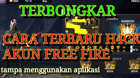 Do you start your game thinking that you're going to get the victory this time but you get sent back to the lobby as soon as you land? CARA H4CK AKUN FREE FIRE.cara mengembalikan akun terkena ...