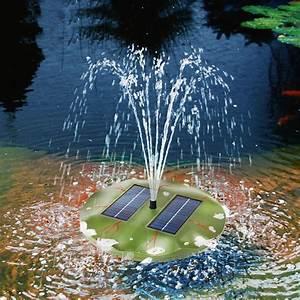 Solarpumpe Für Teich : schwimmende solar teichpumpe seerose solarpumpe gartenteich teich esotec 101770 ebay ~ Orissabook.com Haus und Dekorationen