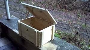 Holz Kisten 60x40x35 - YouTube