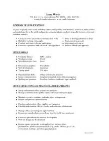 Resume Coaching Skills by Skill Resume Professional Coach Resume Sle Find A