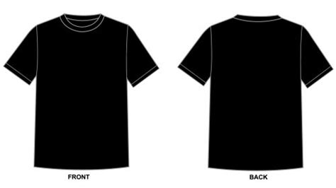Black Tshirt Template Blank Tshirt Template Black In 1080p Hd Wallpapers