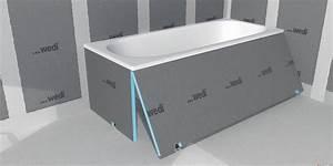 Panneau étanche Salle De Bain : bathboard tablier carreler ref 9784f wedi 073820100 ~ Premium-room.com Idées de Décoration