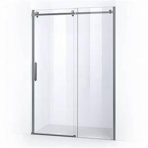 porte de douche coulissante lumio 130 thalassor With porte de douche coulissante avec miroir salle de bain bluetooth 120