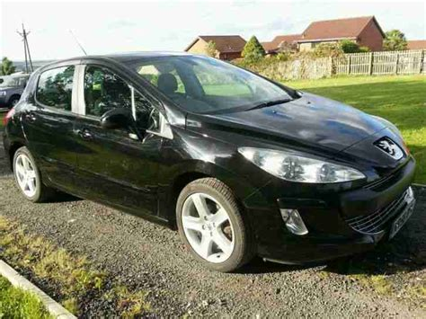 peugeot sports cars for sale peugeot 2008 308 sport hdi 107bhp black car for sale