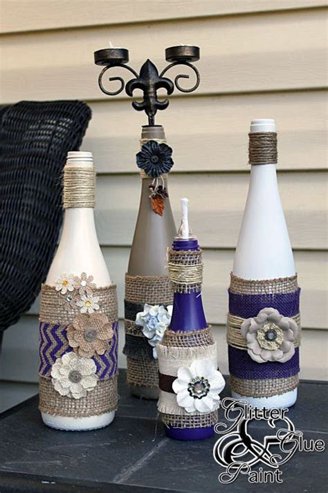 Decorative Wine Bottles Ideas by 487 Best Bottle Ideas Images On Decorated