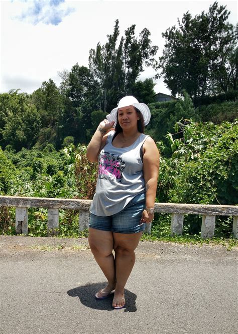 Plus Size Girls Can Wear Shorts - Summer Plus Size Casual Outfit - Honeygirlu0026#39;s World - A Hawaii ...