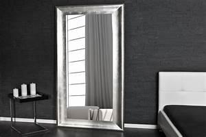 Designer Wandspiegel Groß : design wandspiegel glace silber 180cm dunord design ~ Orissabook.com Haus und Dekorationen
