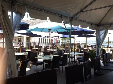 Harborside Grill And Patio Parking by Awesome Outdoor Patio With Views Picture Of S