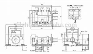 3 Positions Micro Commutateur Rotatif Pour Four