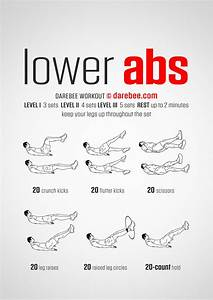 Best Lower Abs Exercises  U0026 Workouts