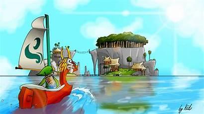 Wind Waker Cave Zelda Anime Secret Wallpapers